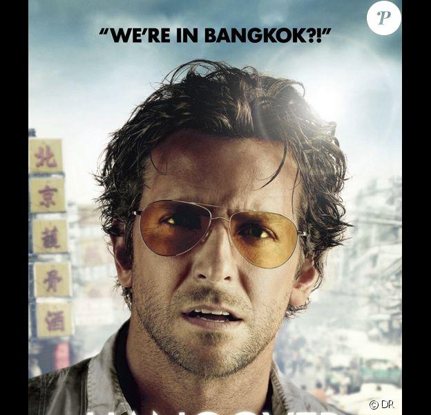 Une affiche du film Very Bad Trip 2 avec Bradley Cooper