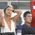 Cristiano Ronaldo, ici avec sa compagne Irina Shayk, revient sur sa nouvelle condition de père
