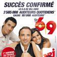 Nikos Aliagas, Karine Ferri et Mustapha El Atrassi : Le 6/9 premier morning de France sur les moins de 50 ans