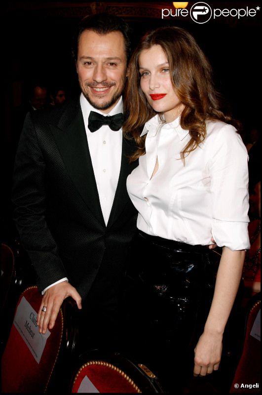 Stefano Accorsi et Laetitia Casta à la 36e cérémonie des César en février 2011
