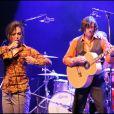 Catherine Ringer et Fred Chichin sur scène en avril 2007, à La Cigale, à Paris, quelques mois avant la mort du guitariste.