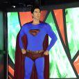 La statue de cire de Superman au musée Madame Tussauds à New York, le 20 avril 2011