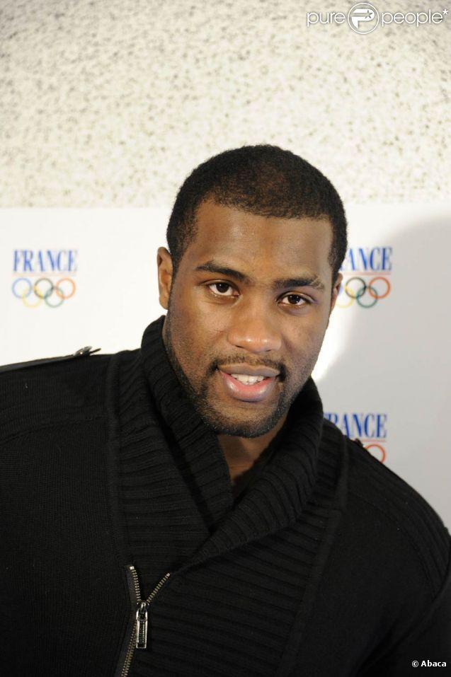 Dans une interview animée au Parisien du 21 avril 2011, le champion de judo Teddy Riner (photo : le 20 janvier 2011 à Paris), 22 ans, confie avoir une amoureuse...