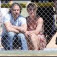 Britney Spears et son chéri Jason assistent au match de baseball du fils aîné.