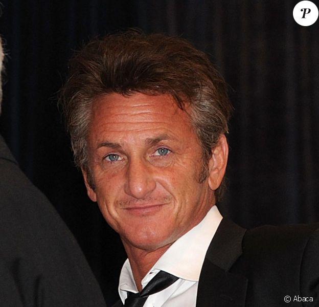 Sean Penn au dîner annuel des correspondants de presse, à la Maison Blanche, le samedi 30 avril 2011.