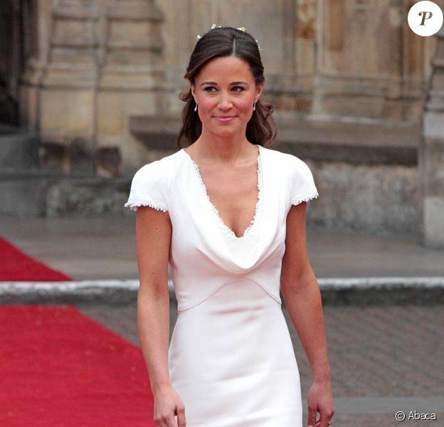 Pippa Middleton au mariage de Kate Middleton et du prince William, à Londres, le 29 avril 2011.