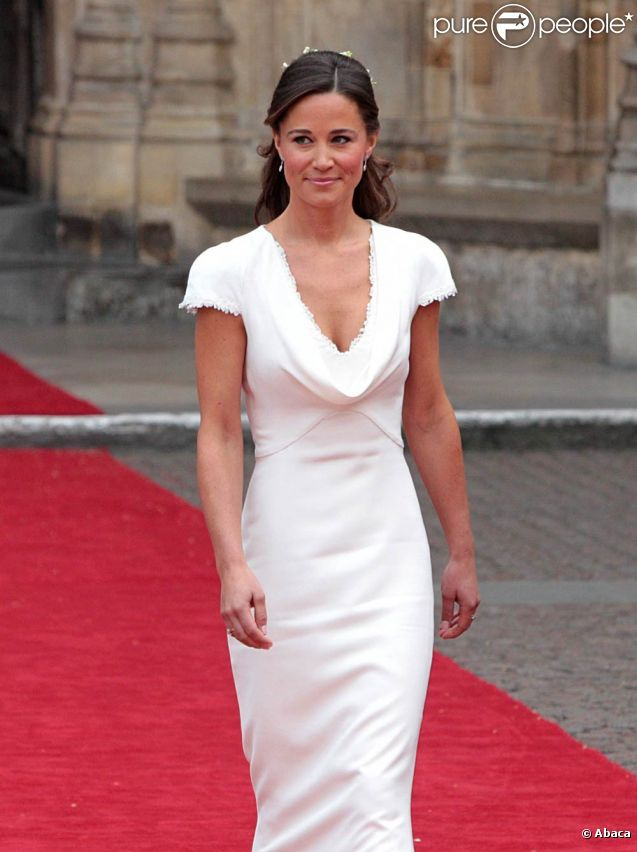 Pippa Middleton au mariage de Kate Middleton et du prince William, à Londres, le 29 avril 2011.