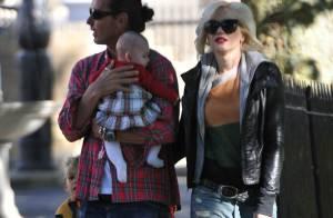 Gwen Stefani et son mari : Fous d'un adorable bébé... Envie d'un 3e enfant?