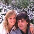 Paul McCartney et Linda, Londres, en 1980.