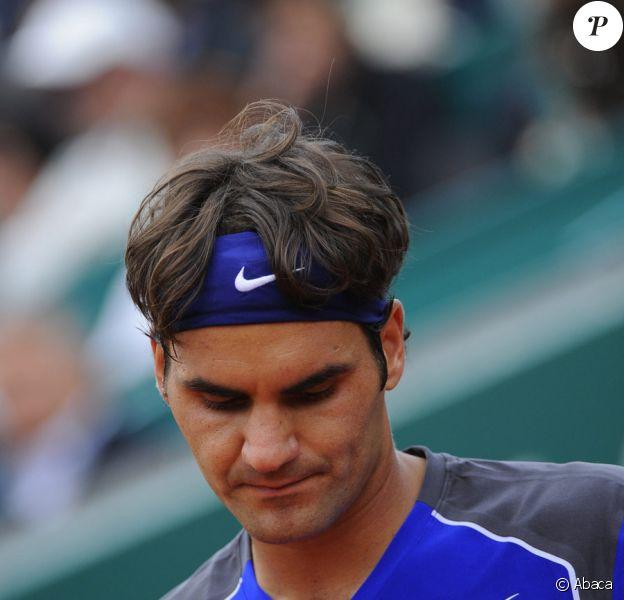 Roger Federer aux Masters 1000 de Madrid, le 6 mai 2011