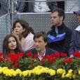 Mirka Federer aux Masters 1000 de Madrid, le 6 mai 2011