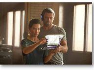 Real Steel : La belle Evangeline Lilly face au boxeur du futur Hugh Jackman !