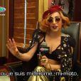 Lady Gaga chez Fun Radio, le 10 mai 2011.
