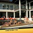 Les filles autour de la piscine dans la bande-annonce des Anges de la télé-réalité 2 : Miami Dreams