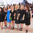 Karole Rocher, Maïwenn, Marina Foïs, Sandrine Kiberlain et Karin Viard à l'occasion du photocall de  Polisse , présenté aujourd'hui au 64e Festival de Cannes, le 13 mai 2011.