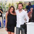 Karole Rocher et Nicolas Duvauchelle à l'occasion du photocall de  Polisse , présenté aujourd'hui au 64e Festival de Cannes, le 13 mai 2011.