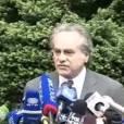 L'avocat de Dominique Strauss-Kahn, s'exprime après son procès, le lundi 16 mai 2011