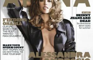 PHOTOS : Le top Alessandra Ambrosio met le feu !