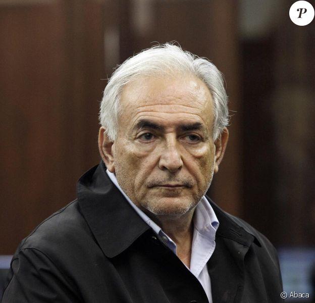 Dominque Strauss-Kahn au tribunal qui l'a envoyé en prison...