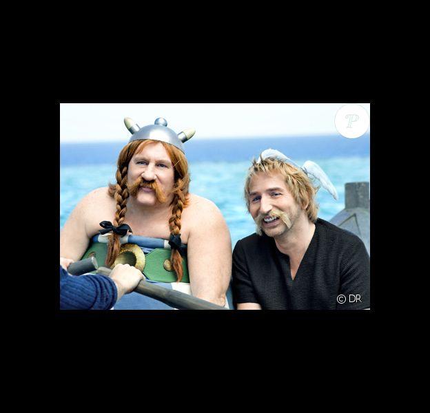 Image du film Astérix : God Save Britannia avec Gérard Depardieu et Edouard Baer