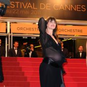 Cannes 2011 : Charlotte Gainsbourg dévoile son ventre rond sous une robe sexy !