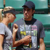 Maria Sharapova et son fiancé Sasha, Roger et sa Mirka: échauffement en tandem !