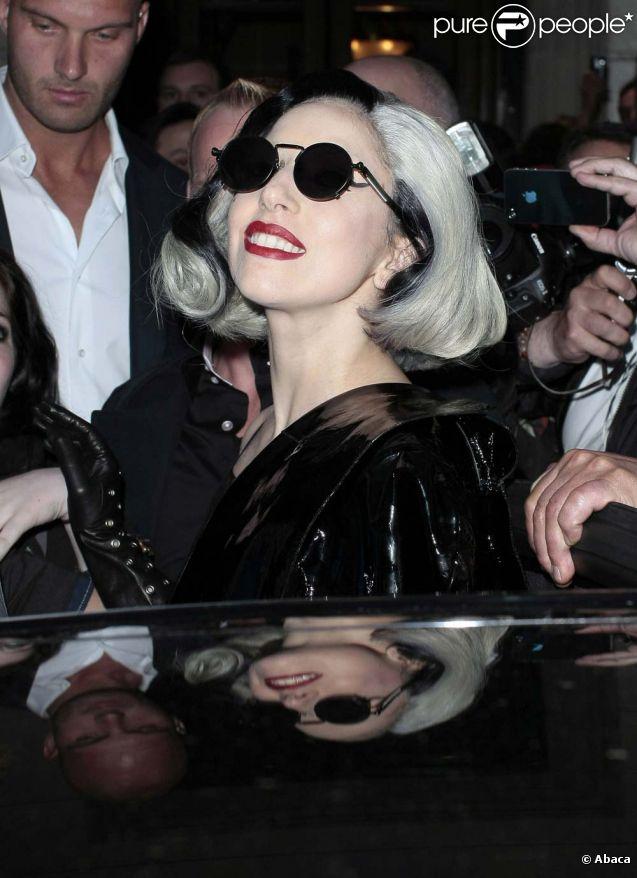 Lady Gaga à Londres, le 14 mai 2011.
