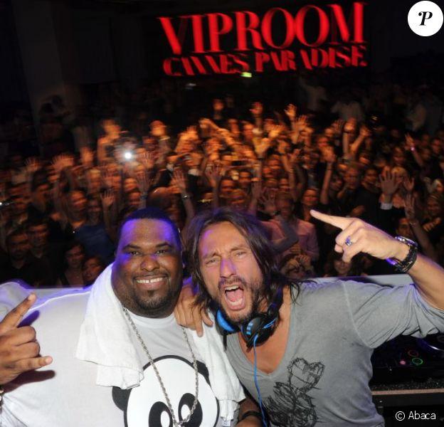 Bob Sinclar et Big Ali ont fait danser le VIP ROOM Cannes le 19 mai 2011