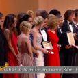 Les récompensés lors de la cérémonie de clôture du Festival de Cannes le 22 mai 2011