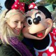 Pixie Lott lors de sa journée magique à Disneyland Paris !