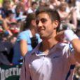 Maxime Teixeira, 22 ans et nouveau venu dans le top 200 de l'ATP, n'a rien pu contre Roger Federer, au deuxième tour de Roland-Garros, le 25 mai 2011. Mais il a vécu une drôle d'expérience.