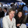 Philippe Caroit et Hélène Degy au cours du voyage du Jasmin, en Tunisie le 8 mai 2011.