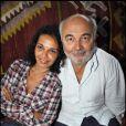Saïda Jawad et Gérard Jugnot au cours du voyage du Jasmin, en Tunisie le 8 mai 2011.