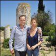 Charles Berling et Virginie Couperie au cours du voyage du Jasmin, en Tunisie le 8 mai 2011.