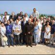 Tous les invités du voyage du Jasmin, en Tunisie le 8 mai 2011.