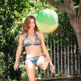 Denise Richards le 1er juin 2011 en bikini à Los Angeles
