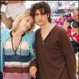 Louis Garrel et Valeria Bruni-Tedeschi au festival de Cannes pour présenter leur film  Actrice , le 19 mai 2007.