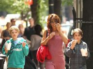 La sublime Helena Christensen en séance shopping avec son adorable fils !