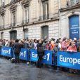 Il y avait environ 700 candidats lors du casting Europe 1 pour devenir chroniqueur de l'été, lundi 6 juin 2011 à Paris.