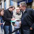 Il y avait environ 700 candidats lors du casting Europe 1 pour devenir chroniqueur de l'été, lundi 6 juin 2011 à Paris. Michel Drucker était présent pour soutenir les jeunes candidats !