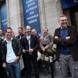 Il y avait environ 700 candidats lors du casting Europe 1 pour devenir chroniqueur de l'été, lundi 6 juin 2011 à Paris. L