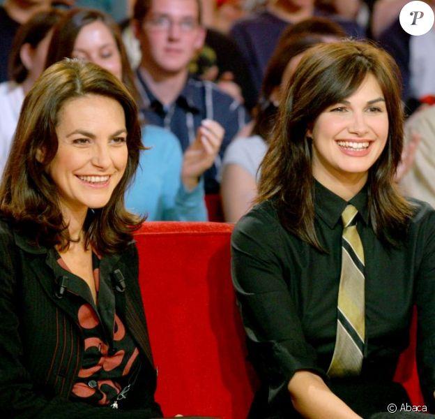Lio et Helena Noguerra sur le plateau de Vivement Dimanche en 2004
