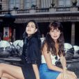 Lio et Helena Noguerra en 1988