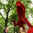 Le 6 juin 2011, la princesse Maxima était à La Haye pour l'inauguration d'une exposition de sculptures chinoises, sur la plus célèbre avenue du pays.