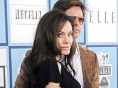 Brad Pitt et Angelina Jolie s'envolent en amoureux...