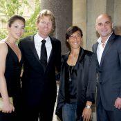 Tatiana Golovin, Mary Pierce et son épouse Susanna très glamour pour Jim Courier