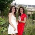 Pour sa troisième édition, la soirée de gala annuelle de la marque Longines, donnée samedi 4 juin 2011 en marge de Roland-Garros, récompensait Jim Courier. Photo : Denise Vilgrain et Caroline Sarkozy-Fournier.