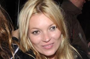 Kate Moss : Son enterrement de vie de jeune fille a bien commencé...