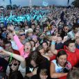 Il y a du monde et de l'ambiance sur l'Ile de Wight le 10 juin 2011 !