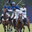 Le tournoi de polo caritatif à Sunninghill, près d'Ascot en Angleterre le 12 juin 2011